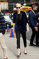www.acepixs.com<br /> June 7, 2017 New York City<br /> <br /> Tilda Swinton arriving to tape an appearance on 'The Late Show with Stephen Colbert' on June 7, 2017 in New York City.<br /> <br /> Credit: Kristin Callahan/ACE Pictures<br /> <br /> Tel: (646) 769 0430<br /> e-mail: info@acepixs.com