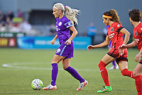 Portland, Oregon - Sunday April 17, 2016: Orlando Pride midfielder Kaylyn Kyle (6). The Portland Thorns play the Orlando Pride during a regular season NWSL match at Providence Park.