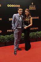 20190116 – PUURS ,  BELGIUM : Jelle Vossen (L) pictured during the  65nd men edition of the Golden Shoe award ceremony and 3th Women's edition, Wednesday 16 January 2019, in Puurs Studio 100 Pop Up Studio. The Golden Shoe (Gouden Schoen / Soulier d'Or) is an award for the best soccer player of the Belgian Jupiler Pro League championship during the year 2018. The female edition is the thirth one in Belgium.  PHOTO DIRK VUYLSTEKE | Sportpix.be