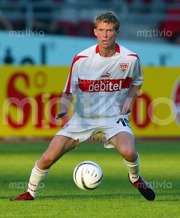 Fussball 1. Bundesliga / UI-Cup 2002/2003 VfB Stuttgart 3-1 AC Perugia Alexander Hleb (VfB)