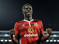 Blackburn Rovers' Lucas Joao celebrates scoring his sides second goal in injury time<br /> <br /> Photographer /Ashley WesternCameraSport<br /> <br /> The EFL Sky Bet Championship - Fulham v Blackburn Rovers - Tuesday 14th March 2017 - Craven Cottage - London<br /> <br /> World Copyright &copy; 2017 CameraSport. All rights reserved. 43 Linden Ave. Countesthorpe. Leicester. England. LE8 5PG - Tel: +44 (0) 116 277 4147 - admin@camerasport.com - www.camerasport.com