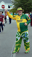 2-7-2017: Gerard Murphy, Castleisland at the Kerry V Cork Munster Football final in Killarney on Sunday.<br /> Photo: Don MacMonagle<br /> <br /> Vox pop Majella O&quot;Sullivan