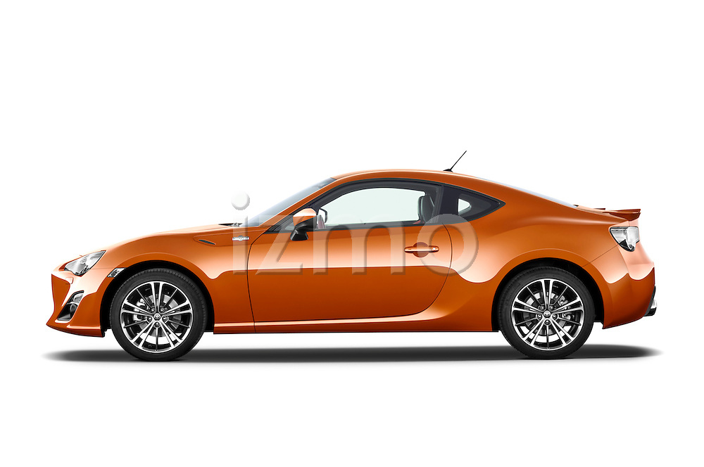 Driver side profile view of a 2013 Toyota GT86 Sport Coupe.