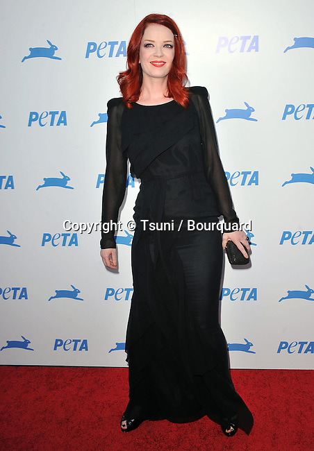 Shirley Manson<br /> Peta 30th Anniversary Gala at the Hollywood Palladium in Los Angeles.