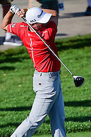 Ryan Palmer (USA) watches his tee shot on 13 during round 1 of the Honda Classic, PGA National, Palm Beach Gardens, West Palm Beach, Florida, USA. 2/23/2017.<br /> Picture: Golffile | Ken Murray<br /> <br /> <br /> All photo usage must carry mandatory copyright credit (&copy; Golffile | Ken Murray)