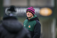 Peter Lydon of Ealing Trailfinders ahead of the Championship Cup match between Ealing Trailfinders and Richmond at Castle Bar , West Ealing , England  on 15 December 2018. Photo by David Horn.