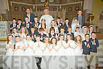 Pupils from Gaeilscoil on Saturday made their Holy Communion in St Stephens/Johns Church Castleisland.