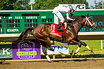 JULY 18, 2020 : Global Campaign with Jorge Vargas Jr. aboard, wins the Grade 3 Monmouth Cup Stakes, going 1 1/8 mile, at Monmouth Park, Elmont, NY.  Sue Kawczynski/Eclipse Sportswire/CSM