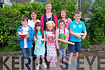 Traditional and new recipes from families in Glenbeigh are now being collected to create a community cookbook which is hoped will be a keepsake for generations to come. <br />Front L-R Sean Page, Lucy McMahon, Meabh Scannell and Aoife Page. <br />Back L-R Shirley McMahon, Mary Scannell and Shelia Page.