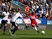 9th September 2017, Macron Stadium, Bolton, England; EFL Championship football, Bolton Wanderers versus Middlesbrough; Adama Traore fires in a shot from the edge of the box