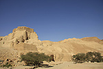 Israel, the Judean Desert, Zohar Fortress in Wadi Zohar
