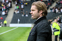 Fleetwood Town's manager Robbie Neilson<br /> <br /> Photographer Andrew Kearns/CameraSport<br /> <br /> The EFL Sky Bet League One - Milton Keynes Dons v Fleetwood Town - Saturday 11th November 2017 - Stadium MK - Milton Keynes<br /> <br /> World Copyright &copy; 2017 CameraSport. All rights reserved. 43 Linden Ave. Countesthorpe. Leicester. England. LE8 5PG - Tel: +44 (0) 116 277 4147 - admin@camerasport.com - www.camerasport.com
