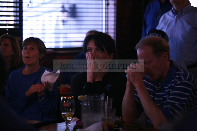 UK fans watch the Kentucky vs. Baylor game at Pazzo's on Sunday, March 25, 2012. Photo by Kirsten Holliday | Staff