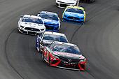 #20: Erik Jones, Joe Gibbs Racing, Toyota Camry Craftsman / Sport Clips and #10: Aric Almirola, Stewart-Haas Racing, Ford Mustang Smithfield / Meijer