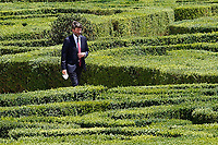 Minister of Culture Dario Franceschini in the gardens of Villa Pamphilj, where the Italian Premier convened the States General of Economy. The summit was strictly behind closed doors and the press was kept outside. Rome (Italy), June 13th 2020<br /> Samantha Zucchi Insidefoto