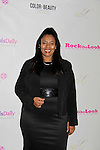 Jordan Tesfay - Covergirl Model presented with Model of the Year Award at Color of Beauty Awards hosted by VH1's Gossip Table's Delaina Dixon and Maureen Tokeson-Martin on February 28, 2015 with red carpet, awards and cocktail reception at Ana Tzarev Gallery, New York City, New York.  (Photo by Sue Coflin/Max Photos)