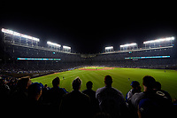 General view of Game 3 of the Major League Baseball World Series between the Cleveland Indians and Chicago Cubs on October 28, 2016 at Wrigley Field in Chicago, Illinois.  (Mike Janes/Four Seam Images)