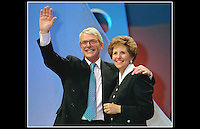 John & Norma Major - Docklands Arena - Election 1997