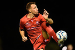 BRISBANE, AUSTRALIA - MARCH 14:  during the NPL Queensland Senior Mens Round 6 match between Eastern Suburbs FC and Redlands United at Heath Park on March 14, 2020 in Brisbane, Australia. (Photo by Patrick Kearney)