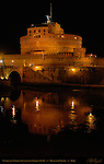 Castle San Angelo at night Castel sant'Angelo Mausoleum of Hadrian 139 AD Ponte sant'Angelo Rome