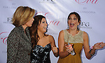 HOLLYWOOD, CA. - April 27: Felicity Huffman, Eva Longoria Parker and Teri Hatcher arrive at her Fragrance Launch Event at Beso on April 27, 2010 in Hollywood, California.