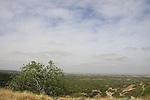 Israel, Shephelah, a view from Hurvat Tzura, site of an ancient settlement