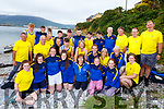 All members of the Callinfercy Rowing Club taking part in the Fenit Regatta on Sunday.
