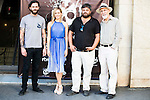 "Matt Horan, Kimberley Tell, Miguel Angel Jimenez and Denis Rafter during the presentation of the film ""La Mina"" at Cines Renoir Plaza España in Madrid. July 15. 2016. (ALTERPHOTOS/Borja B.Hojas)"