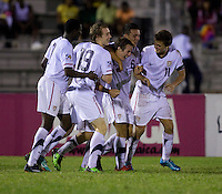 Nathan Smith. The United States defeated Canada, 3-0, during the final game of the CONCACAF Men's Under 17 Championship at Catherine Hall Stadium in Montego Bay, Jamaica.