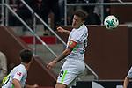 22.07.2017, Millerntor-Stadion, Hamburg, GER, FSP, FC St. Pauli vs SV Werder Bremen<br /> <br /> im Bild<br /> Max Kruse (Werder Bremen #10) mit Kopfball, <br /> <br /> Foto &copy; nordphoto / Ewert