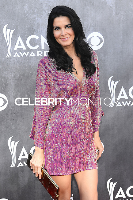 LAS VEGAS, NV, USA - APRIL 06: Angie Harmon at the 49th Annual Academy Of Country Music Awards held at the MGM Grand Garden Arena on April 6, 2014 in Las Vegas, Nevada, United States. (Photo by Celebrity Monitor)
