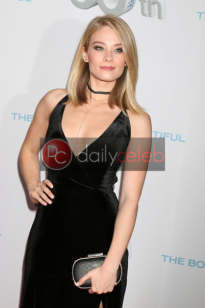 """Kim Matula<br /> at the """"The Bold and The Beautiful"""" 30th Anniversary Party, Clifton's Downtown, Los Angeles, CA 03-18-17<br /> David Edwards/DailyCeleb.com 818-249-4998"""