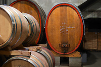wooden vats barrel aging cellar domaine bonserine ampuis rhone france