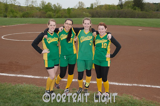 CHS seniors (from left) Alyssa Beary, Mikayla Notaro, Jillian Hazel and Shannon Sargent.