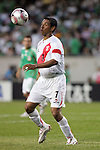 June 08 2008:  Nolberto Solano (West Ham United / ENG) (7) of Peru.  During the third and final match of Mexico's 2008 USA Tour in preparation for qualification for FIFA's 2010 World Cup, the national soccer team of Mexico defeated Peru 4-0 at Soldier Field, in Chicago, IL.