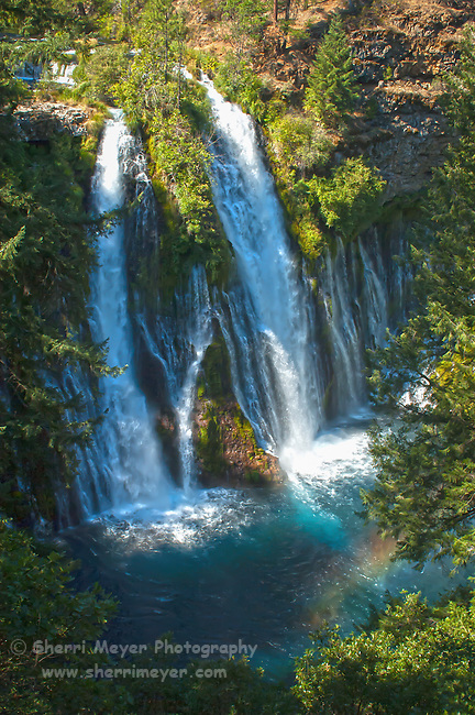 McArthur-Burney Falls, Northern California.