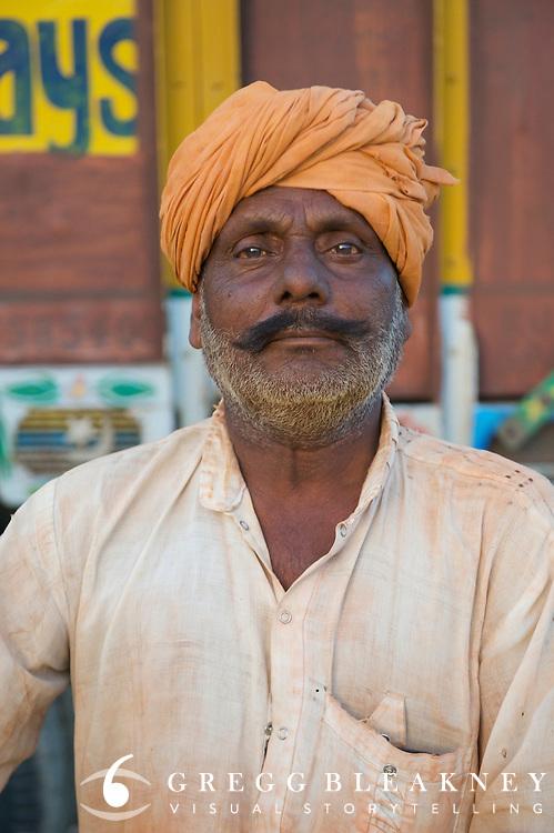 Hard day laborer - Sathur, India
