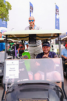 Tyrrell Hatton (ENG) on the starting grid at the preview to the DP World Tour Championship, Jumeirah Golf Estates, Dubai, United Arab Emirates. 19/11/2019<br /> Picture: Golffile | Fran Caffrey<br /> <br /> <br /> All photo usage must carry mandatory copyright credit (© Golffile | Fran Caffrey)