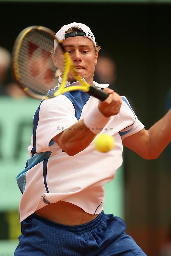 Photo: Iconsport/Richard Lane Photography..Roland Garros 2006..01/06/2006. .Lleyton Hewitt.
