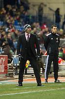 Rayo Vallecano´s Paco Jemez during 2014-15 La Liga match between Atletico de Madrid and Rayo Vallecano at Vicente Calderon stadium in Madrid, Spain. January 24, 2015. (ALTERPHOTOS/Luis Fernandez) /NortePhoto<br /> NortePhoto.com