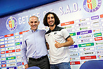 Getafe CF's new player Marc Cucurella (r) with the General Manager Angel Martin during his official presentation. July 19, 2019. (ALTERPHOTOS/Acero)