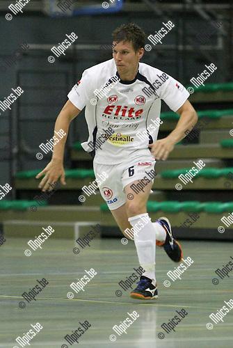 2009-08-30 / Futsal / Malle / Hakkens Jeroen..Foto: Maarten Straetemans (SMB)