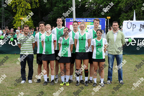 2014-05-01 / Korfbal / seizoen 2013-2014 / Finale Beker van Belgi&euml; Voorwaarts - Boeckenberg / Voorwaarts<br /><br />Foto: mpics.be