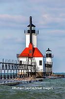 64795-02806 St. Joseph North Pier Lighthouses St. Joseph, MI