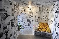 - Sicilia,  Castel di Tusa (Messina), l'albergo - museo di arte moderna &quot; Atelier sul Mare &quot;<br /> <br /> - Sicily, Castel di Tusa (Messina), the hotel - museum of modern art &quot;Atelier sul Mare&quot;