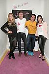 Patricia Montero, Jesus Olmedo and Nerea Garmendia attend the presentation of the first shop in Madrid of Nerea Garmendia Brand By Nerea, Spain. January 13 2015. (ALTERPHOTOS/Carlos Dafonte)