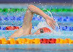 Wales Daniel Jarvis in action during the Men's 1500m Free Final<br /> <br /> Photographer Ian Cook/Sportingwales<br /> <br /> 20th Commonwealth Games -Swimming -  Day 6 - Tuesday 29th July 2014 - Glasgow - UK