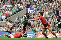 Twickenham, GREAT BRITAIN, Exiles', Sailosi TAGICAKIBAU, in action on the wing, during the Heineken, Semi Final, Cup Rugby Match,  London Irish vs Toulouse, at the Twickenham Stadium on Sat 26.04.2008 [Photo, Peter Spurrier/Intersport-images]