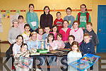 COMMUNITY GAMES: Taking part in the Strand Road Community Games artistic drawing and hand moulding models at Kerins ORahillys Clubhouse, Strand Road, Tralee, on Saturday. Front row l-r: Emma Linnane, Laura Foley, Ciara O'Connor, Niamh Foley, Lucy Linnane, Jordan O'Dwyer, Killian Moran and Ellen O'Brien. Middle row l-r: Bree Curtin, Lisa Tobin, Donagh O'Brien, Elanna McLoughlin, Cathal Foley, Molly Savage, Ciara Dolan, Maeve Linnane and Michael Collins. Back row l-r: Rachel Browne, Hazel Moran, Cian O'Connor, Jack Linnane and Tara Higgins..
