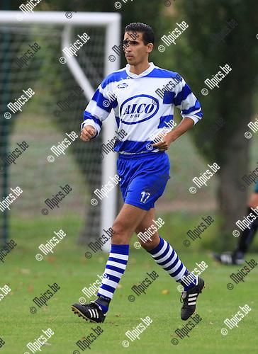 2010-07-29 / Voetbal / seizoen 2010-2011 / FC Mariekerke / Malek Belhaj..Foto: mpics